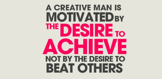 a creative man...