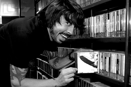 Dave Grohl likes the Zep!
