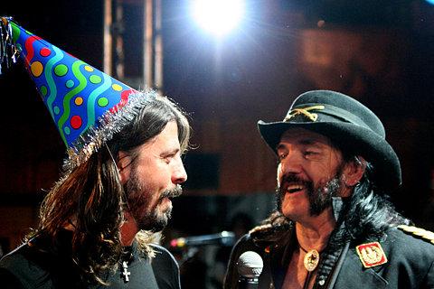 Dave 'n' Lemmy...