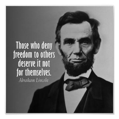 Abe Lincoln Sex mit Sklaven