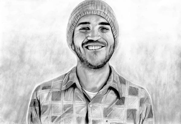 John Frusciante (by kitenek)