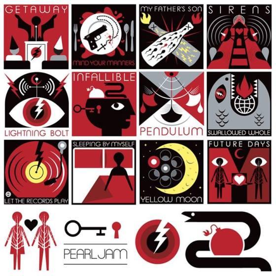 Pearl Jam - Lightning Bolt tracklist