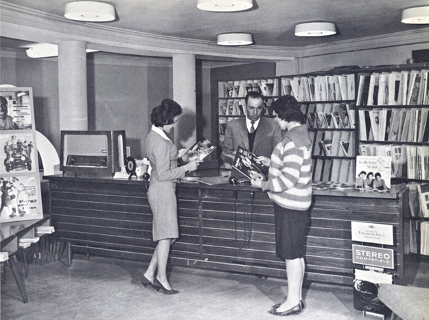 1950s_Afghanistan_-_Records_store