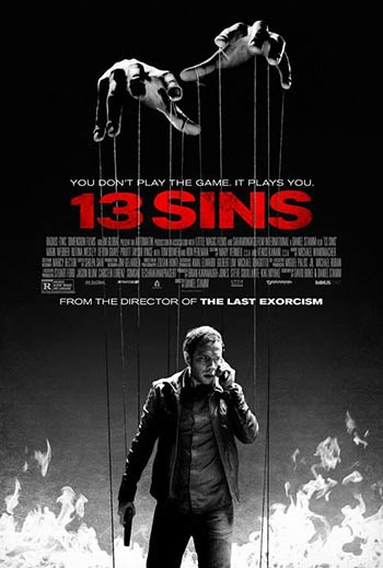13 sins (movie poster)