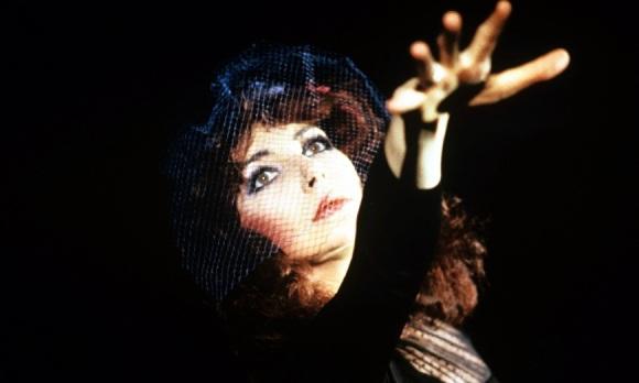 Kate Bush in concert, 1986. Foto: Fotex/REX