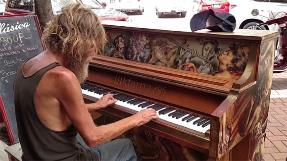 homeless-man-plays-piano-styx-come-sail-away-donald-gould-sarasota-keys-coverimage