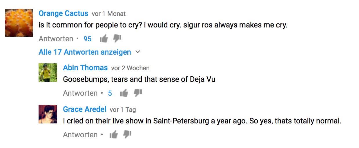 SR comment