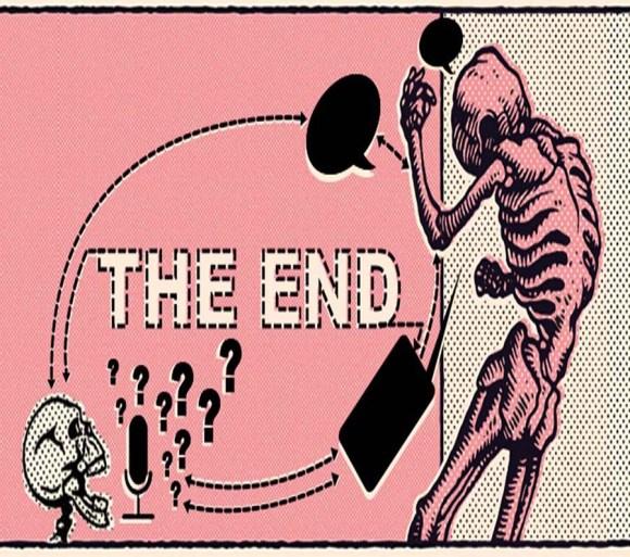 the end logo